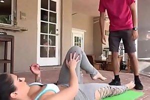 Yoga Abspritzen Adriana Chechik Best porn